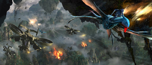 Banshee Attack From Avatar by